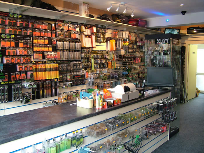 Fishing tackle shops in north tyneside for Fishing equipment stores